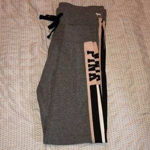 Victoria Secret Grey Yoga pants